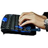 Геймерська Бездротова Ігрова Клавіатура І Миша HK-8100, фото 8