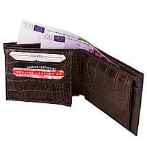 Мужской кожаный кошелек CANPELLINI (КАНПЕЛЛИНИ) SHI504, фото 2