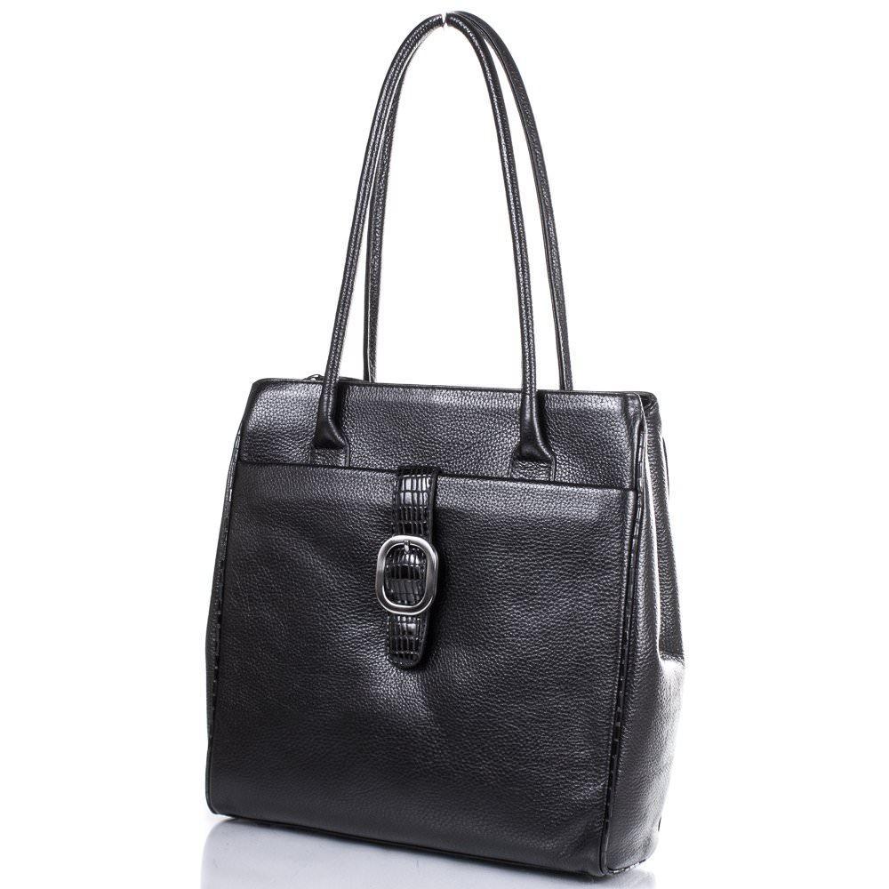Женская кожаная сумка DESISAN (ДЕСИСАН) SHI7131-011