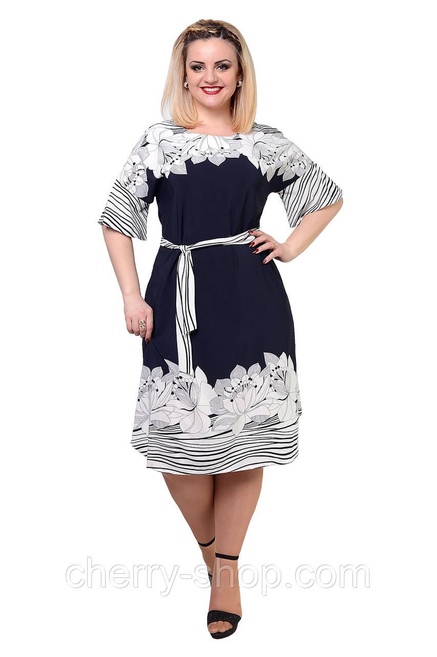 Свободное , легкое платье в размере 48,50,52,54