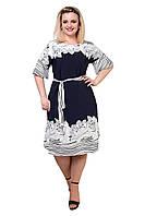 Вільне , легке плаття в розмірі 48,50,52,54, фото 1