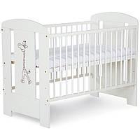 Кроватка детская Klups Safari  Zyrafka Жираф Белая