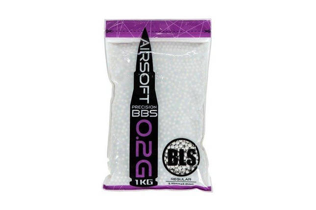 Шары BLS PRECISION BB PELLETS – 0.20g - 5000шт - 1kg [BLS], фото 2