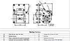 Коробка відбору потужності КПП SCANIA GR 880 ISO на 4 болта Bezares, фото 2