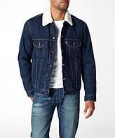Джинсовая куртка Levis  Sherpa Lined Denim Jean Jacket - DARK STONEWASH