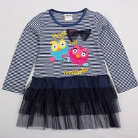 Детское платье-туника Совы