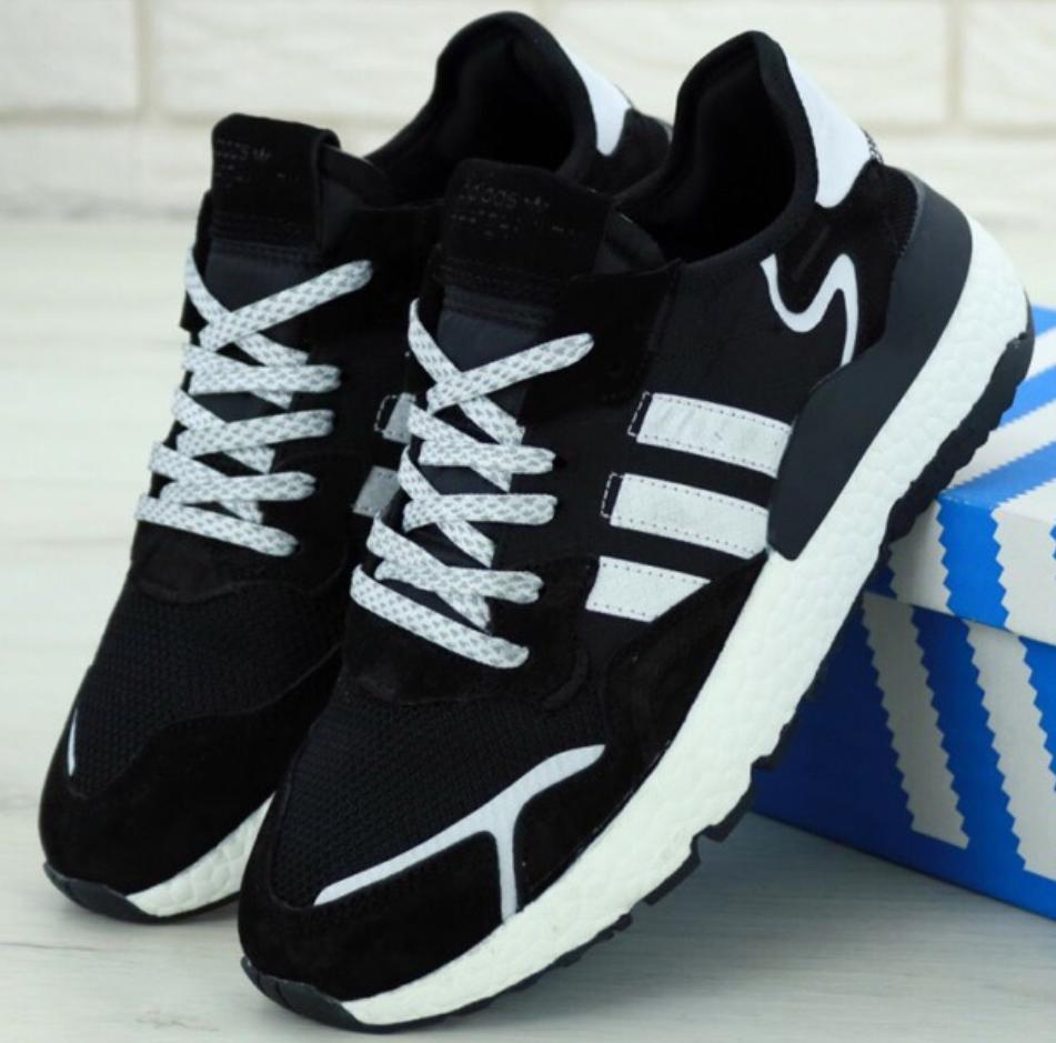 Мужские кроссовки Adidas Nite Jogger Black