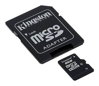 Карта памяти Kingston SDC4 / 16GB Micro SDHC