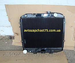 Радиатор Уаз 3160, Патриот , двигатель ЗМЗ 514 (3-х рядный, медный) производитель ШААЗ, Россия
