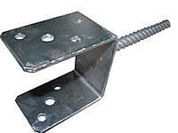 Консоль колонны тип U 70. Основание колонны бруса