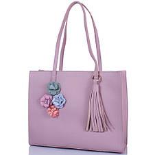 Женская сумка из качественного кожезаменителя  ETERNO (ЭТЕРНО) ETK4372-lila, фото 2