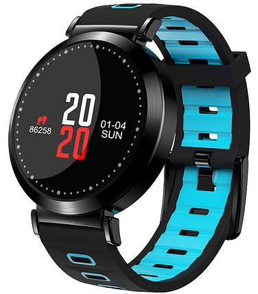 Smart Watch Y10 Black/Blue Гарантия 1 месяц, фото 2