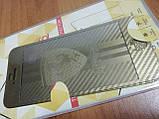 Защитное стекло для iPhone 5 5S SE золотистое Ferrari переднее и заднее, фото 4
