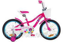 Велосипед FORMULA KIDS 16 FLOWER OPS FRK 16 044 блакитний  колір