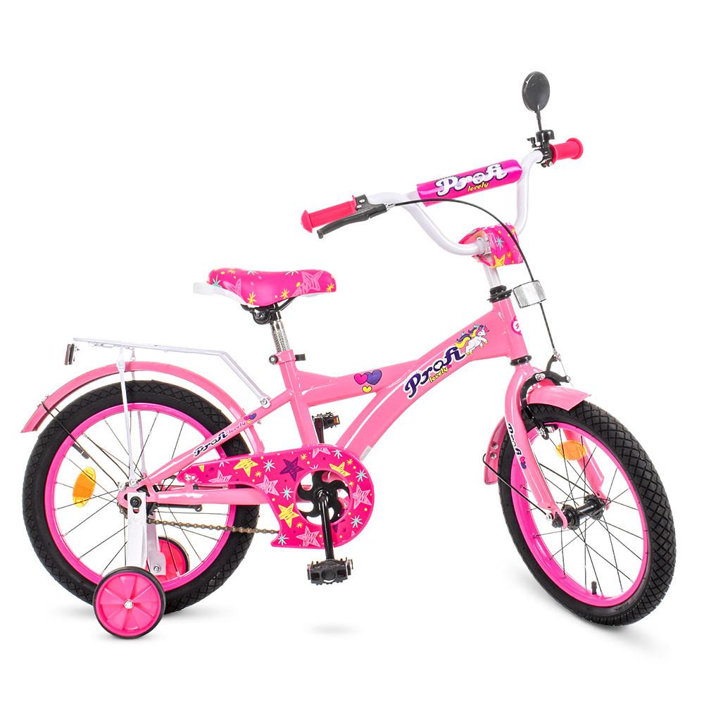 Велосипед детский PROF1 18д. T1861 Розовый