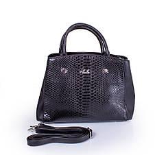 Женская сумка из качественного кожезаменителя  AMELIE GALANTI (АМЕЛИ ГАЛАНТИ) A981136-black, фото 3