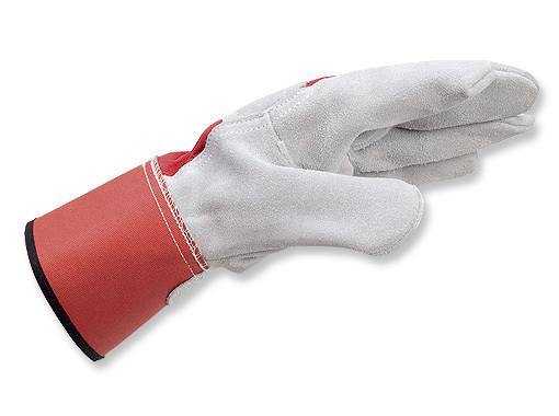 Спилковые перчатки с манжетой Wurth