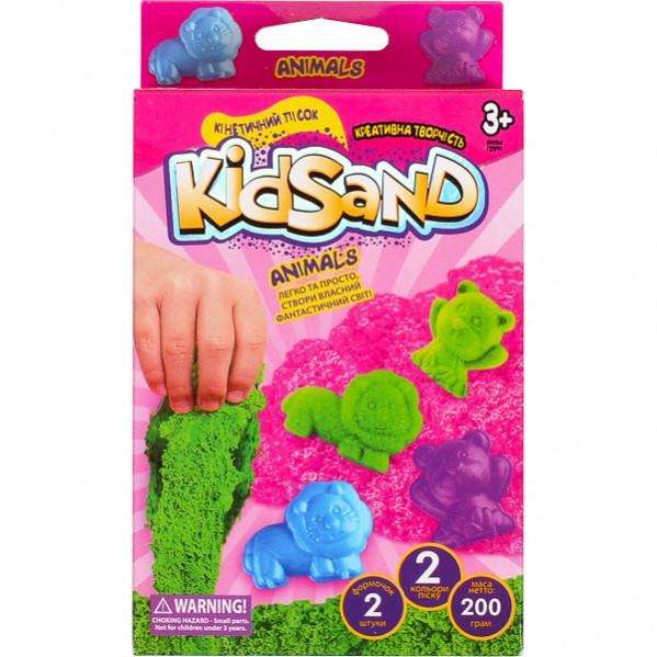 Набір кінетичного піска «KidSand» коробка 200 г