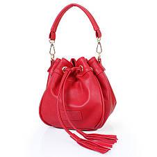 Женская сумка из качественного кожезаменителя  LASKARA (ЛАСКАРА) LK10195-red, фото 3