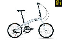 """Складной велосипед 20"""" Cayman Fold 3 белый, фото 1"""
