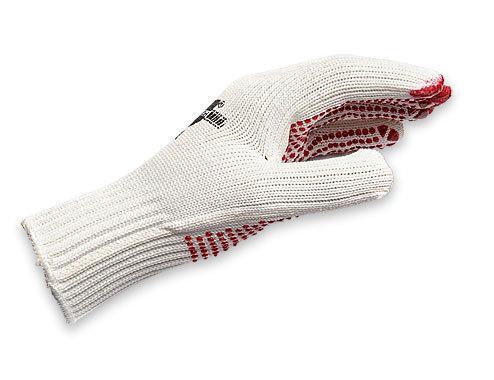 Вязаные перчатки с точечным виниловым покрытием Wurth