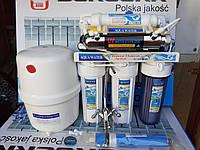 Осмос Польша с помпой 7 ступеней очистки с УФ-лампой и минерализатором AR05P