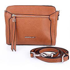 Женская мини-сумка из качественного кожезаменителя  AMELIE GALANTI (АМЕЛИ ГАЛАНТИ) A991458-brown, фото 2