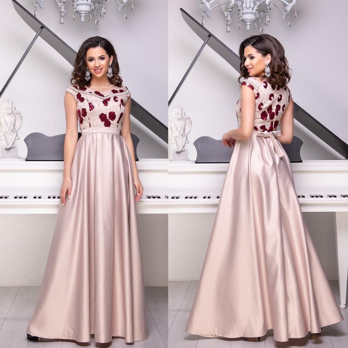 f9e559e4c9c Платье атласное выпускное