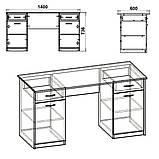 """Письменный стол """"Учитель-2"""", фото 2"""