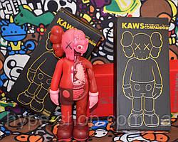 Игрушка Kaws Originalfake Dissected Companion pink
