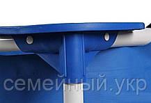 Каркасный бассейн 260х160х65. 3-х слойный ПВХ. Rectangular Frame Pool Intex 28271, фото 3