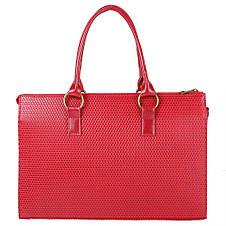 Женская сумка из качественного кожезаменителя  LASKARA (ЛАСКАРА) LK10199-red, фото 3