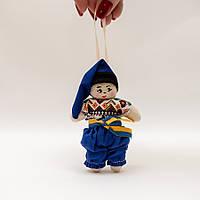 Лялька брелок міні хлопчик, фото 1