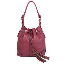 Женская сумка из качественного кожезаменителя  LASKARA (ЛАСКАРА) LK10194-plum, фото 3
