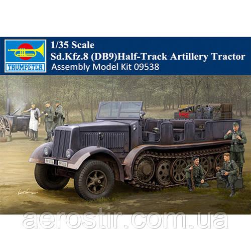 Sd.Kfz.8 (DB9) Half-Track Artillery Tractor 1/35 Trumpeter 09538
