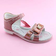 Босоножки на липучках на девочку Пудра Том.м размер 37, фото 3