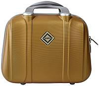 Кейс дорожный Bonro Smile большой золотой (10091612)