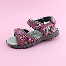 Босоножки спортивные сандалии розовые на девочку Том.м размер 37, фото 3