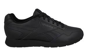 Мужские кожаные кроссовки REEBOK ROYAL GLIDE (V53959) черные, фото 2