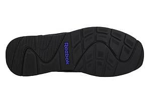 Мужские кожаные кроссовки REEBOK ROYAL GLIDE (V53959) черные, фото 3