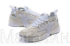 Женские кроссовки Nike Zoom 2K White (Найк Зум 2К) белые, фото 3