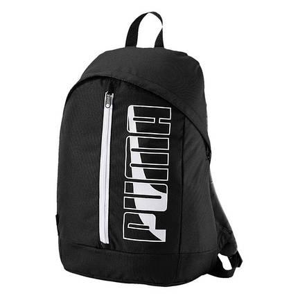 Рюкзак унисекс PUMA PIONEER II (074718 01) черный, фото 2