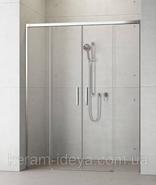 Душевые двойные раздвижные двери Radaway Idea DWD 150см 387125-01-01