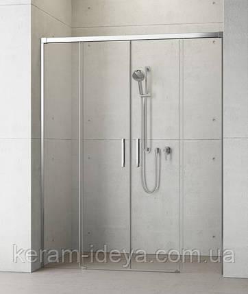 Душевые двойные раздвижные двери Radaway Idea DWD 150см 387125-01-01, фото 2