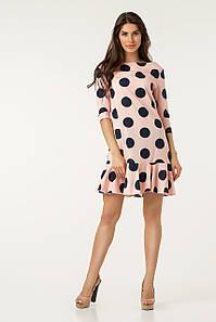 Платье Lilove №43563 44-46 пудра