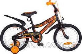 Велосипед FORMULA KIDS 16 RACE OPS FRK 16 057. Помаранчевий з чорним