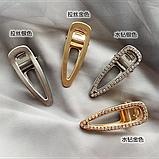 """Шпильки для волосся зі стразами і перлами """"Love fashion style"""", 10 видів, фото 3"""