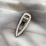 """Шпильки для волосся зі стразами і перлами """"Love fashion style"""", 10 видів, фото 4"""
