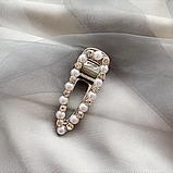 """Шпильки для волосся зі стразами і перлами """"Love fashion style"""", 10 видів, фото 5"""