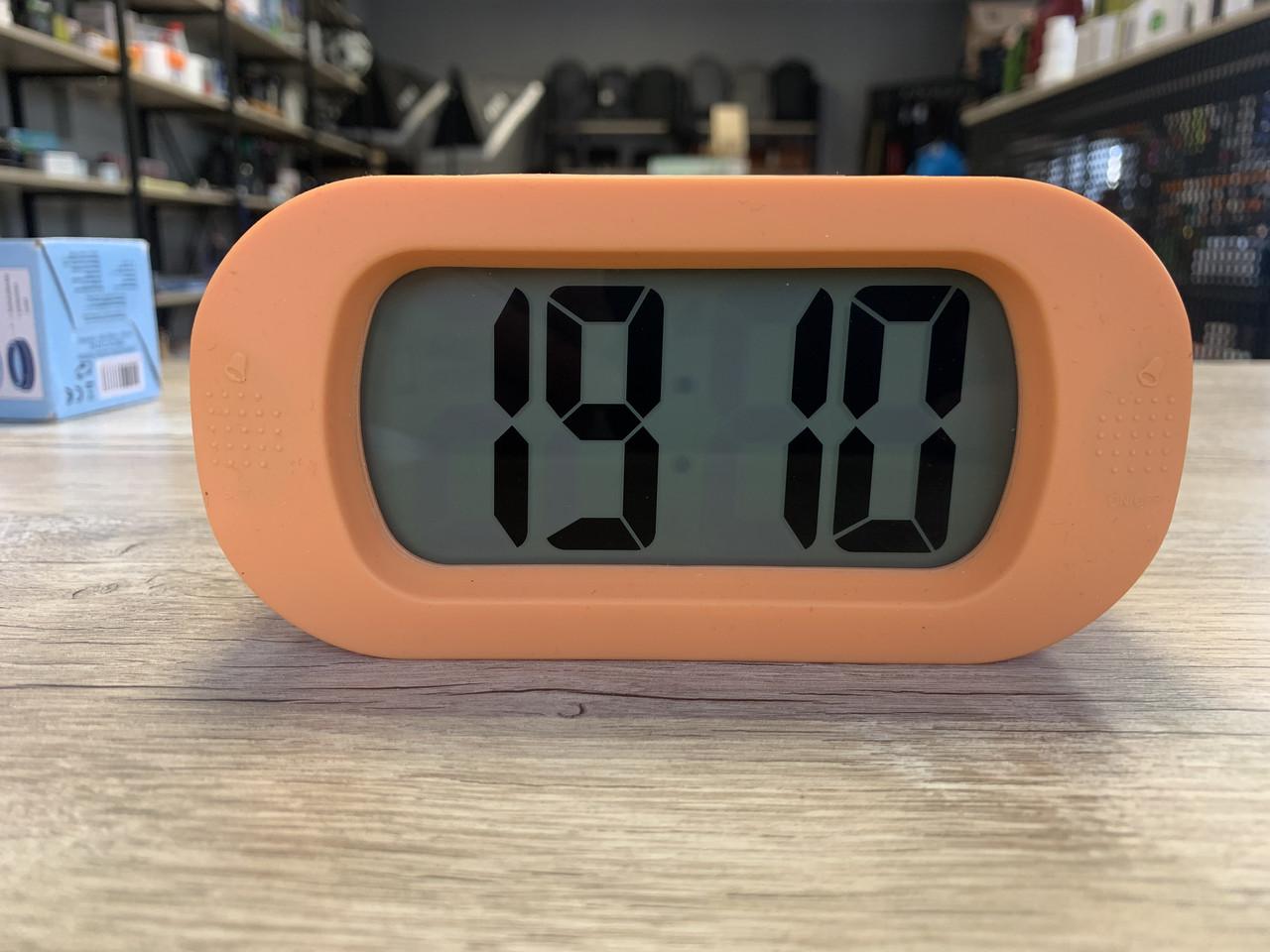 Цифровий будильник, годинник Rossmann Idea World